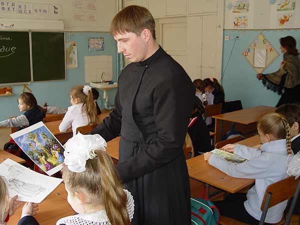 Педагогическая практика воспитанников семинарии